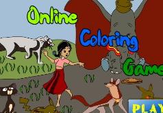 Игра Раскраска Книга джунглей 2