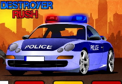Игры Полицейский уничтожитель