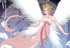 Игры Одеваем принцессу-ангела