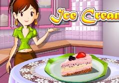 игры для девочек кухня сары мороженое