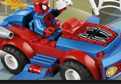 Игры Лего автомобили Автомобиль паук