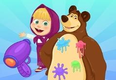 игры маша и медведь три медведя