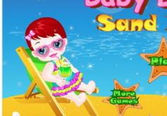 Игра Малышка Лулу на пляже
