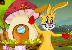 игры пасхальный заяц одевается