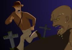 Игры Зомби террор Индиана Джонс