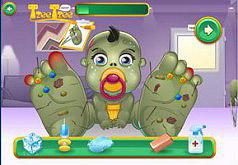 Игры Малыш зомби в больнице