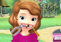 Игра София Прекрасная у стоматолога