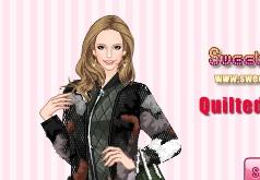 Игра Модные стеганые куртки