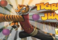 игры кунфу панда прыжки тигра