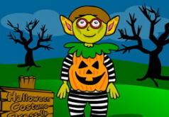 Игра Одеваем костюм к Хеллоуину