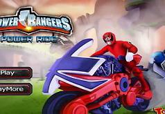 игры пауэр рэйнджер мотоциклисты