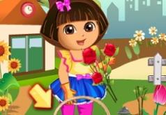 Игра Дора Любовь к цветам
