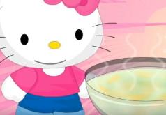 Игры Хелло Китти готовит суп