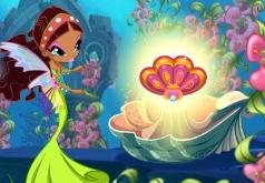 Игры винкс флора русалка