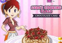 игры замечательный шоколадный торт
