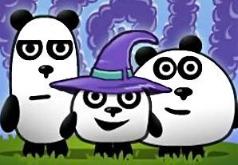 игры панды путешествие