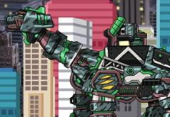 Игра Дино робот Сейсмозавр