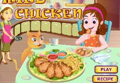 Игры Хрустящая жареная курица