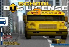 Игры Лицензия на школьный автобус 3