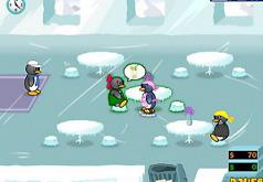 игры официантка пингвин 2