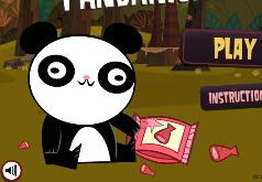 Игры Нападение злобных панд