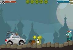 игры зомби и колеса