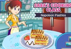 Игры Кухня Сары Печенье Наполеон часть 2