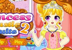 Игры Уборка в комнате принцессы часть 2