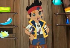 Игры Вымой грязного пирата Джейка
