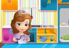Игры София Прекрасная готовит пирог из тыквы