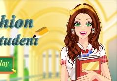 Игра Модная студентка