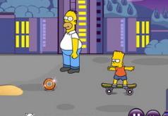 Игра Симпсоны Побег от Гомера