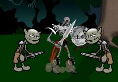 Игра Король скелетов в стране духов