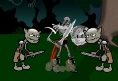 Игра Могучие рейнджеры уничтожают гоблинов