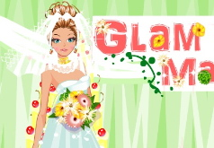 игры гламурное свадебное платье