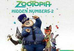 Игра Зоотопия Скрытые номера 2
