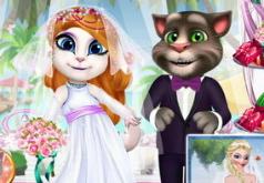 Игры Экзотический медовый месяц Анжелы и Тома