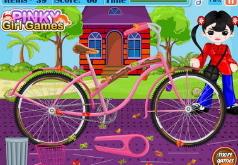 Игры Чистим велосипед