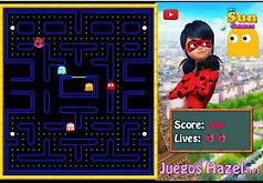 Игры Леди Баг и Супер Кот Пакман