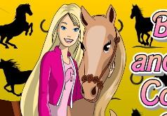 Игры раскраски для девочек лошадки