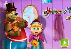 игры маша и медведь колесо