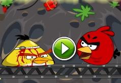 Игра Злые птицы Большая космическая бомба