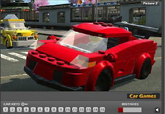 Игры Лего автомобили Найдите ключи