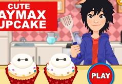 Игры Город героев Хиро готовит кексы