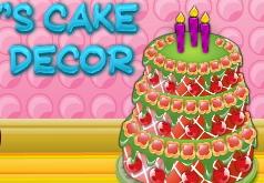 Игра Дизайн торта Эмили