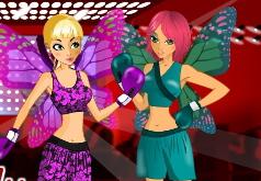 Игры Девочки, похожие на бабочек