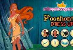 Игры Покахонтас одевалка