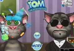 Игры Кот Том Макияж