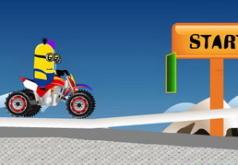 Гонки миньонов|игры мотоциклы