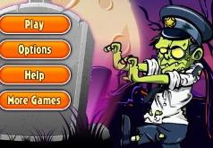 Игры Шариковый бластер зомби